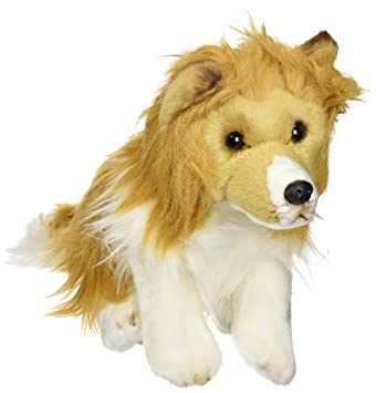 Amazon Com Nat And Jules Plush Toy Shetland Sheepdog Large Baby
