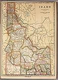 "Map Poster - Idaho 17"" x 22"""