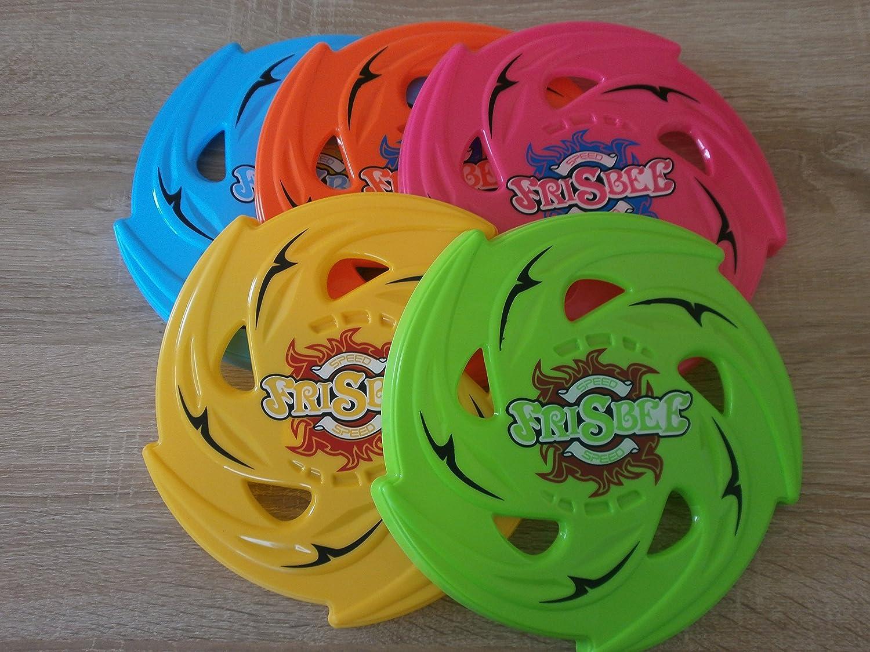 18 Frisbee - Flugscheibe gezahnt Wurfscheibe Strandspielzeug