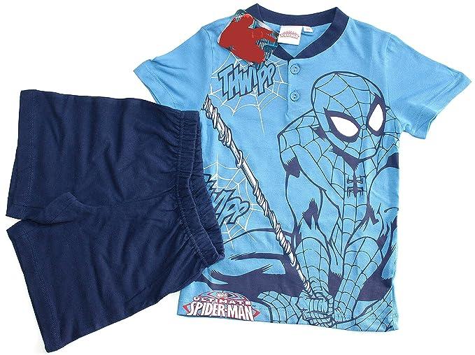 Liabel Pijama Chándal Niño Spider Man Corto Talla 9 años Puro ...