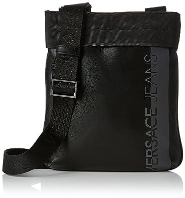 d266228a01 Versace Jeans Ee1yrbb11 E65019, Sac bandoulière homme noir noir ...