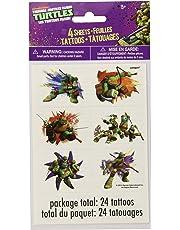 Teenage Mutant Ninja Turtles Tattoo Sheets, 4ct