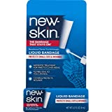 New-Skin Liquid Bandage  0.3 FL OZ, Liquid Bandage for Hard-to-Cover Cuts, Scrapes, Wounds, Calluses, and Dry, Cracked Skin