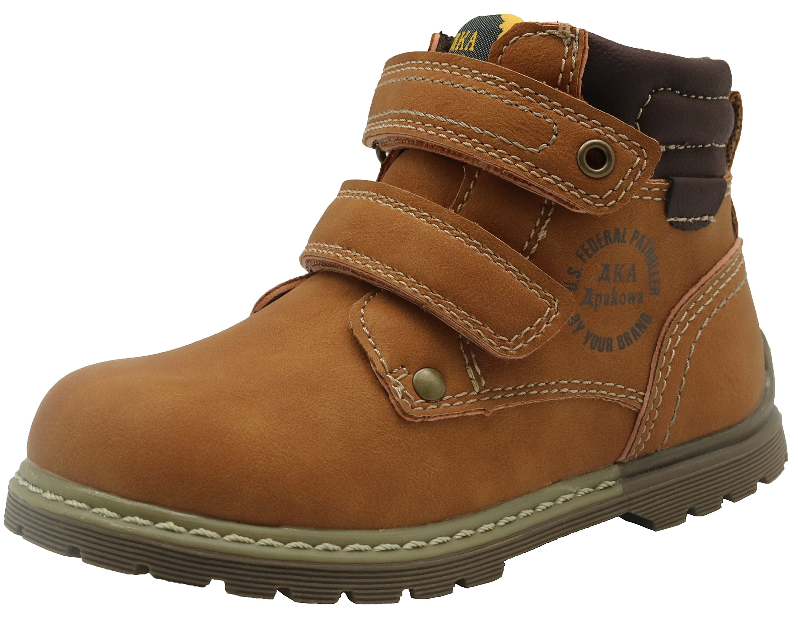 Apakowa Boy's Classic Rubber Martin Boots (Toddler)