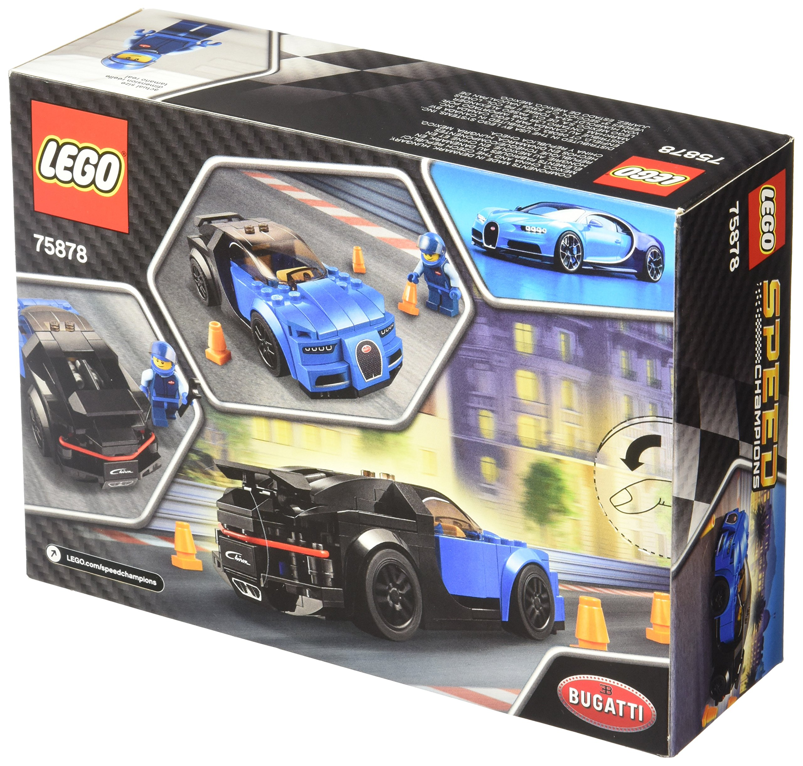 lego bugatti chiron 75878 ebay. Black Bedroom Furniture Sets. Home Design Ideas