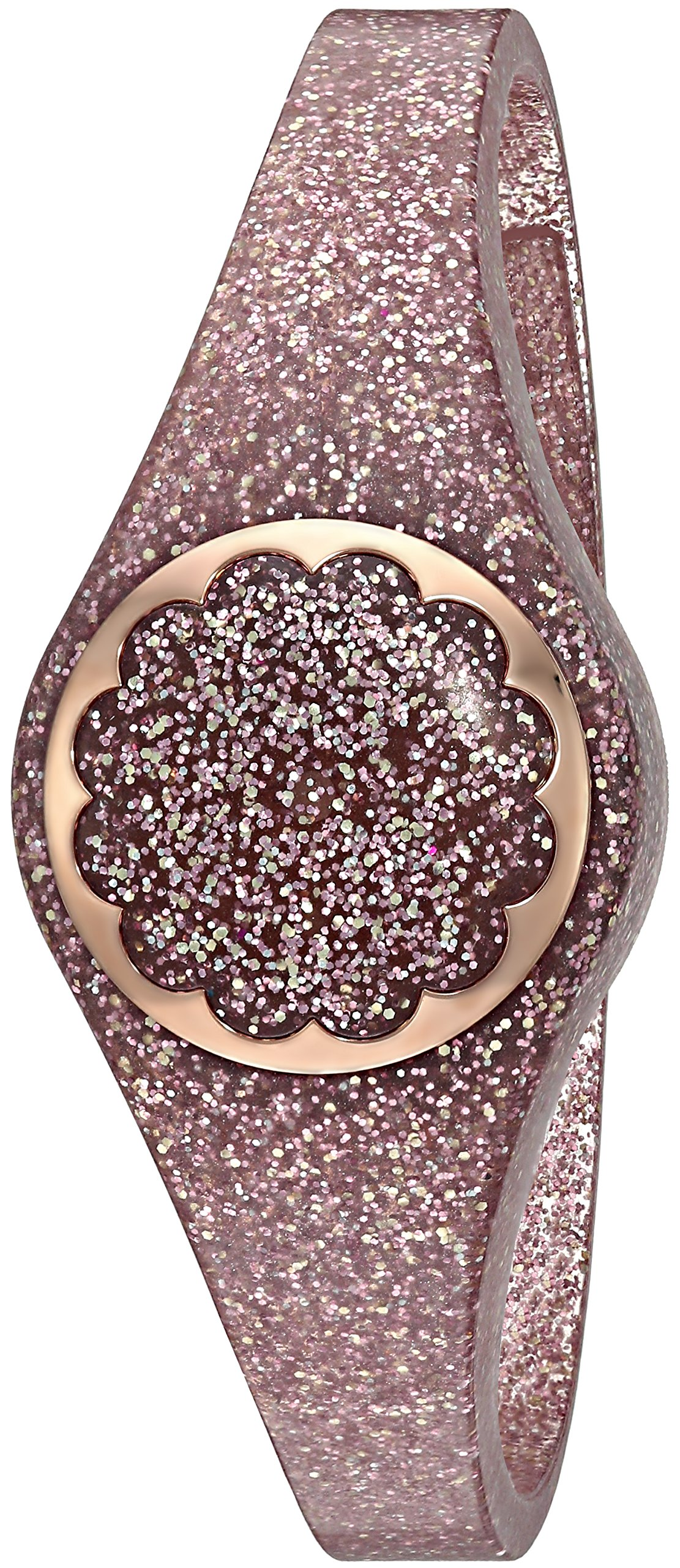 Kate Spade New York rose gold glitter scallop activity tracker by Kate Spade New York (Image #1)