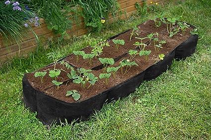 Amazon.com: trietree tela cama elevada plantar, jardín ...