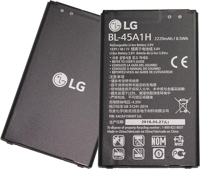 LG K10 Smartphone teléfono celular batería de ion de litio 2300 ...