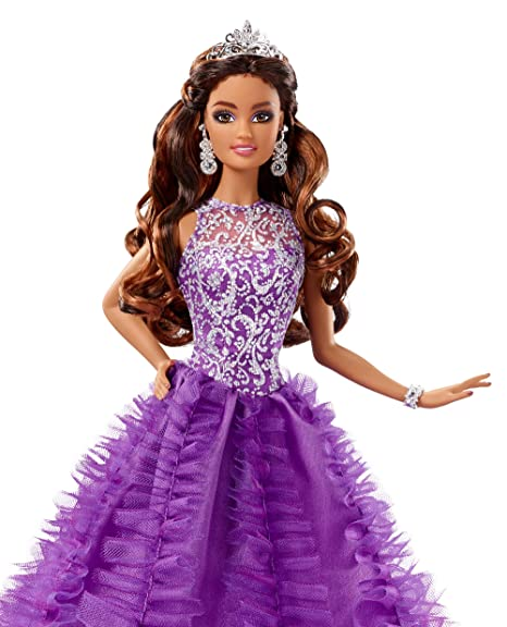 c8df79e32fd Amazon.com: Barbie Collector Quincenera Doll: Barbie: Toys & Games