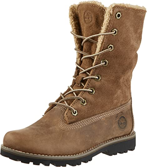 TIMBERLAND AUTHENTIC 6 INCH CLASSIC SHEARLING BOOT JUNIOR KIDS BOYS WINTER SHOES
