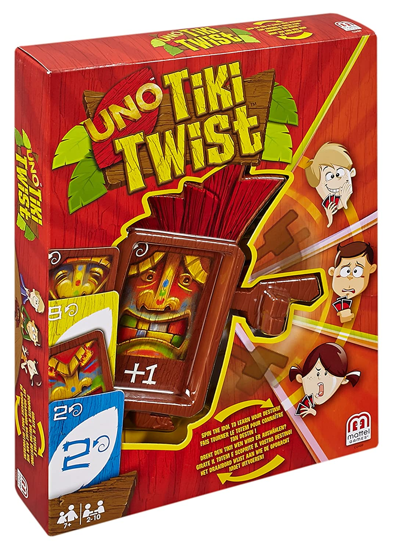 Juegos Mattel - UNO Tiki Twist, Juego de Mesa (CGH09)