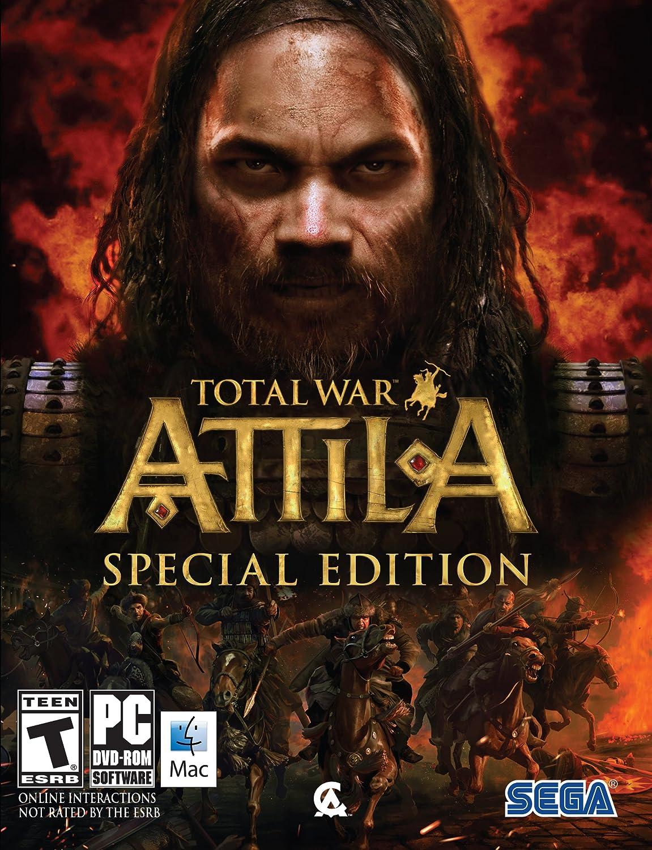 Amazon com: Total War: Attila Special Edition: PC: Video Games
