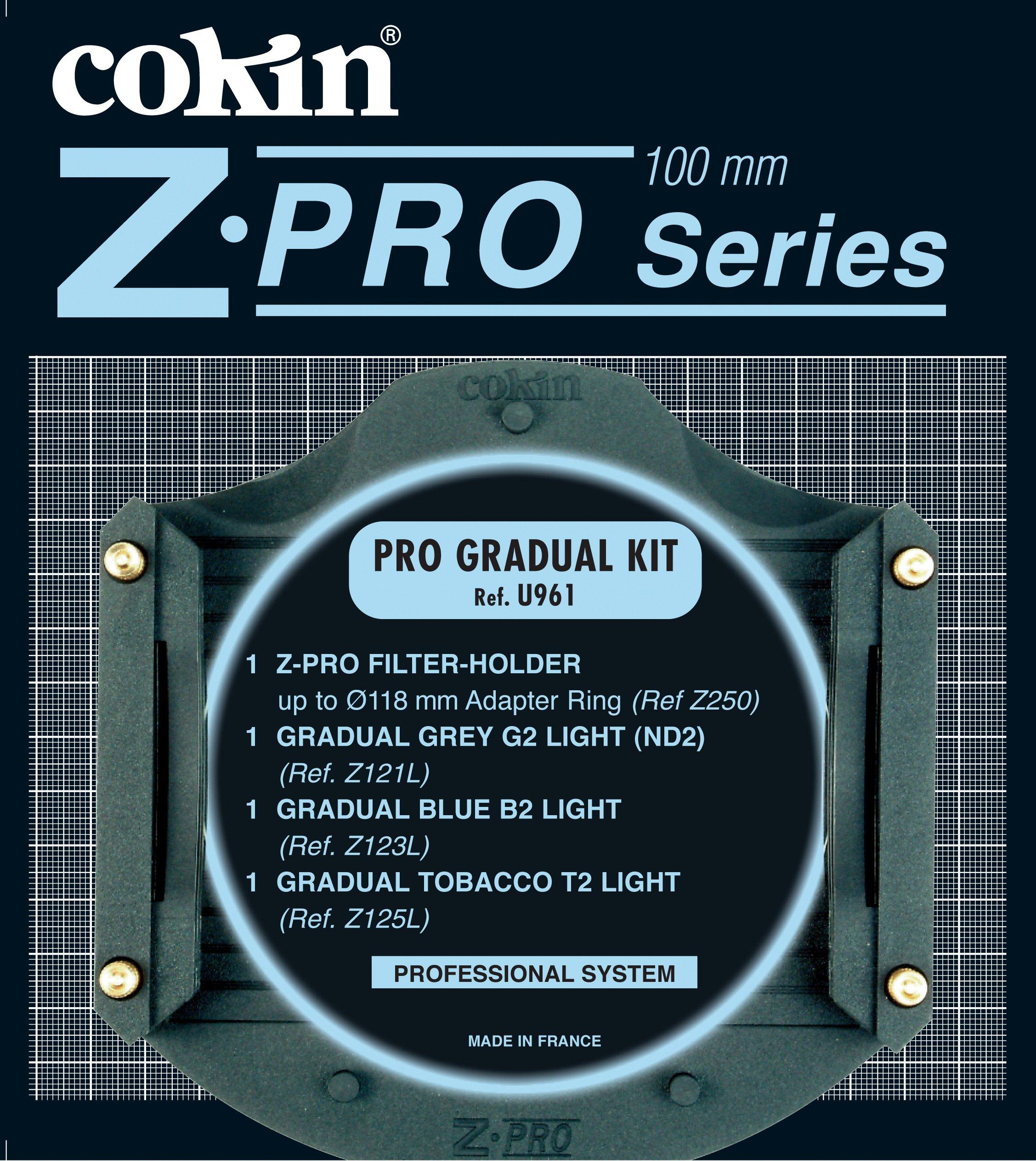 Cokin U961 Z-Pro Gradual ND/BLU/TOB by Cokin