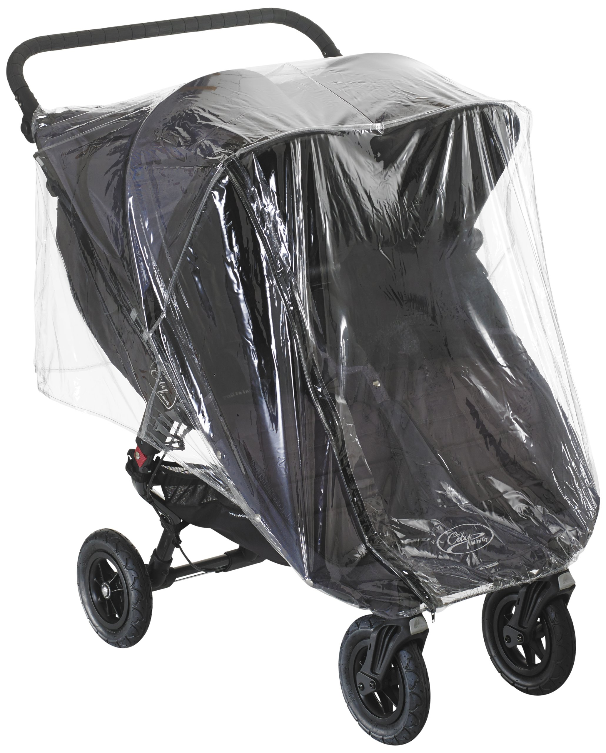 BABY JOGGER CITY DOUBLE RAINCOVER (FOR GT MINI)