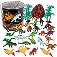 SCS Direct Dinosaur Action Figures - Huge 30 Piece Set Dinosaur Toy Figurine