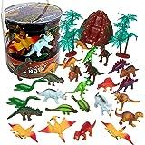 Dinosaur Action Figures - Huge 30 Piece Set of Dinosaur Toy Figurine