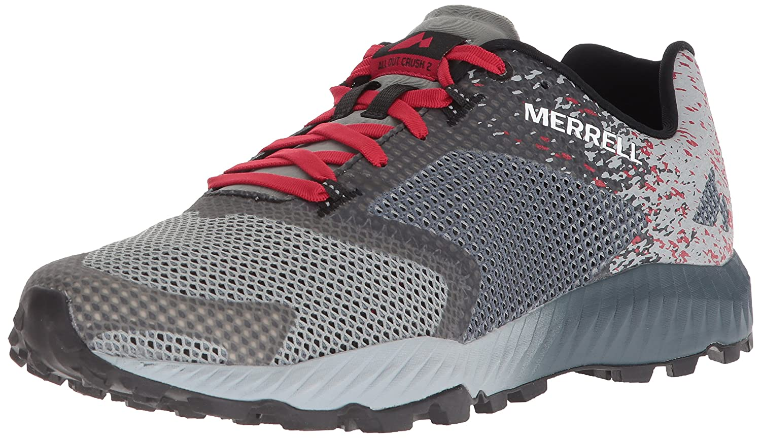 Merrell Men's All Out Crush 2 Sneaker B071JPRXXS 11 D(M) US|Slate