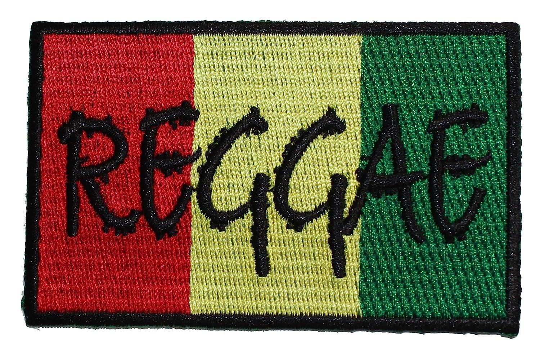 Rasta Reggae PATCH - Officially Licensed Original Artwork, 2