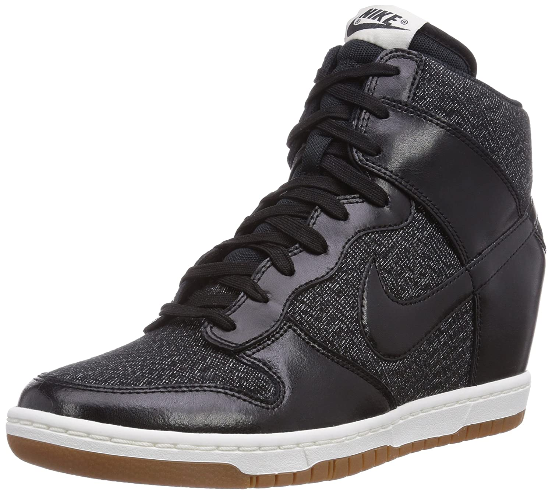 Nike Womens Dunk Sky Hi Essential Black SAIL Medium Mint Black 644877-003  6.5  Amazon.ca  Clothing   Accessories d1dd2ce126