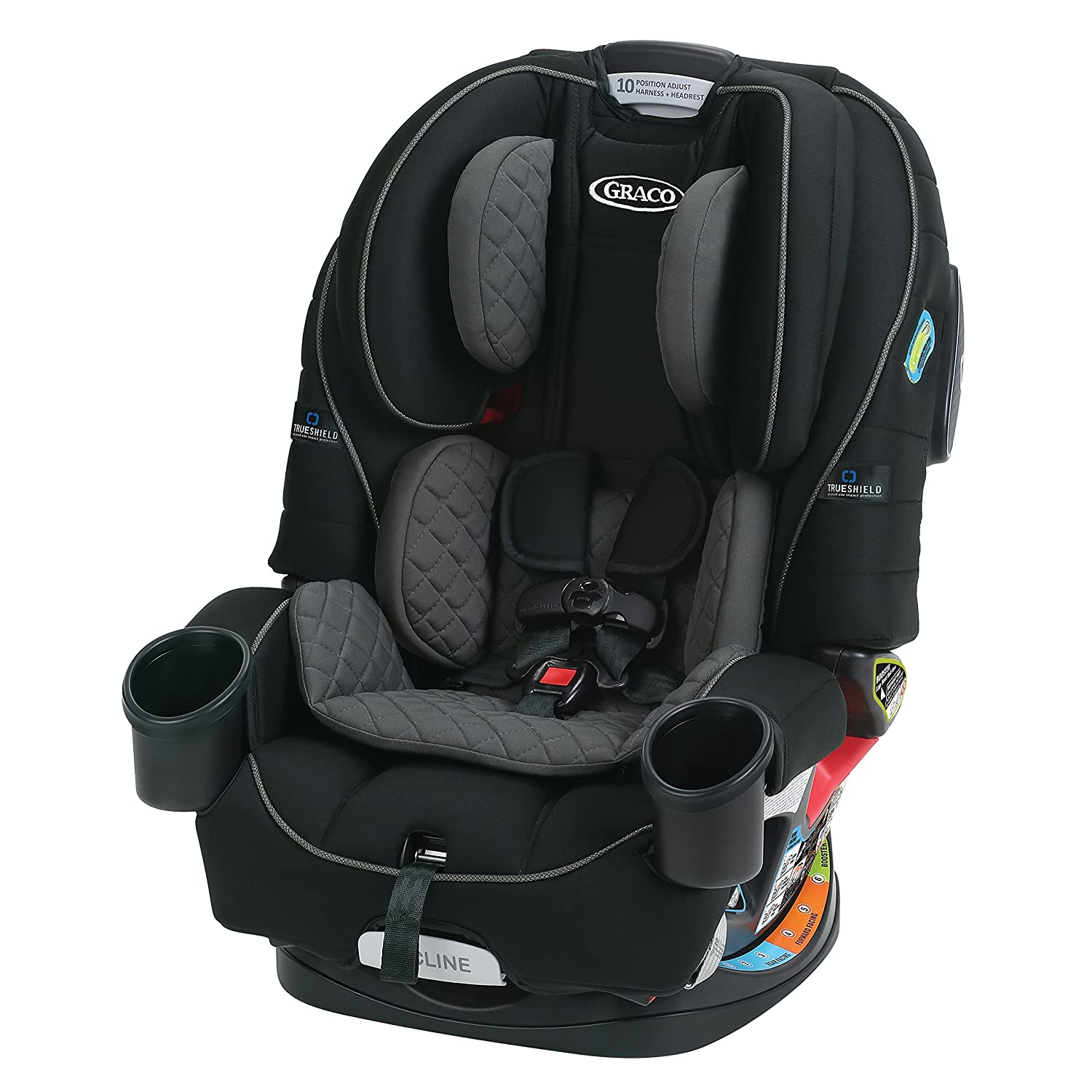 Graco 4Ever All-in-1 Convertible Car Seat, Cameron Graco Baby 1906081