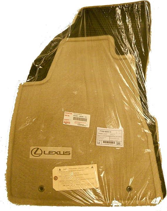 Black OEM Genuine 4pc CARPET FLOOR MATS Lexus RX330 RX350 2004-2009