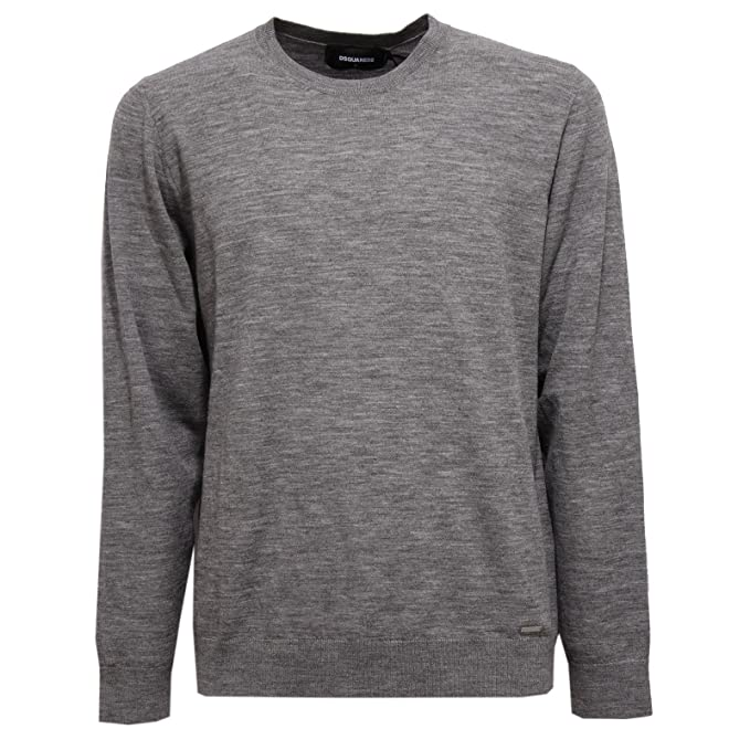 DSQUARED2 6951V maglione uomo EVERGREEN wool grey sweater man [XL]: Amazon.es: Ropa y accesorios