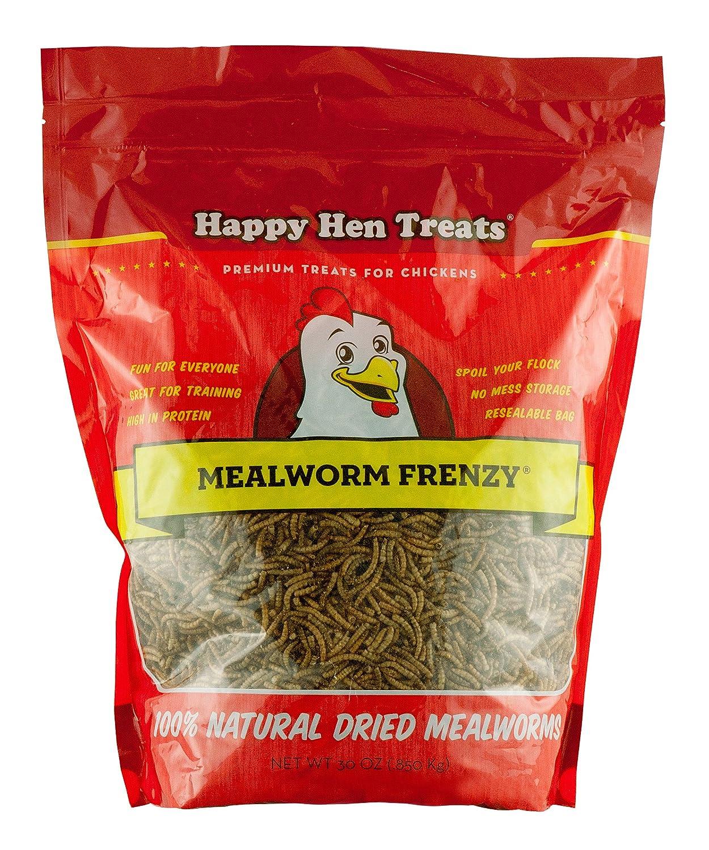 amazon com happy hen treats mealworm frenzy 30 ounce pet food