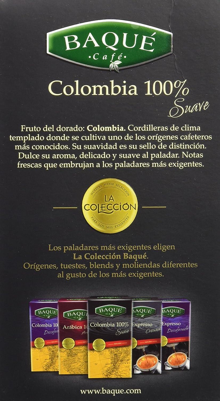 Cafés Baqué Café Molido La Colección Colombia 100% - 250 gr ...