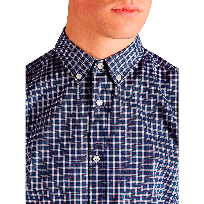 ddfbfe686339 Camisa Nova Cuadros Azules Y Rojo de Jack   Jones  Amazon.fr  Vêtements et  accessoires