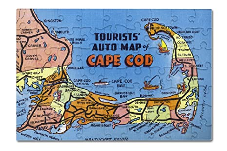 Detailed Map Of Cape Cod on