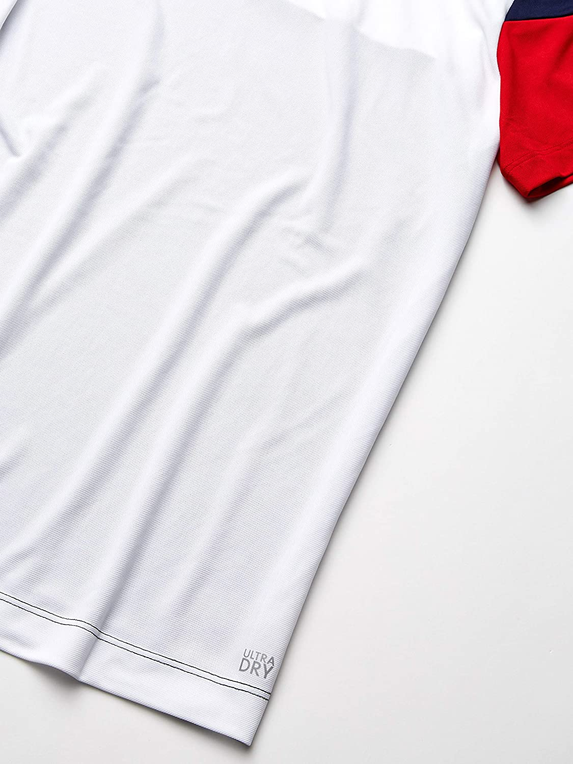 Lacoste Mens Sport Short Sleeve Ultra Dry Technical Color Blocked T-Shirt