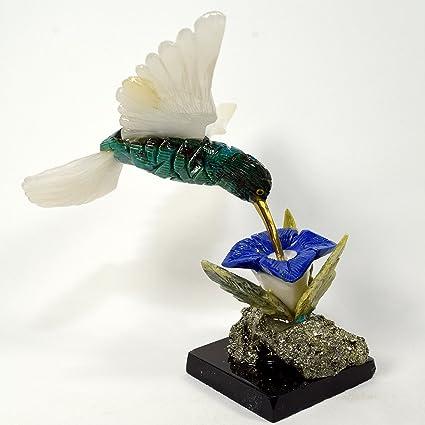 HQRP Colibri - Figura Decorativa de Pájaro DE 4,9 Pulgadas, Diseño ...