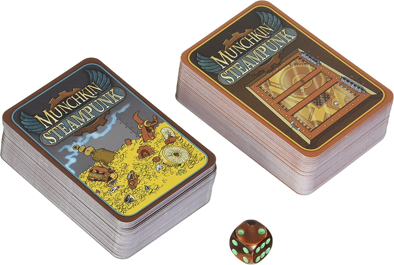 Steve Jackson Games sjg01531 – Tarjeta Juegos, Munchkin Steam Punk, edición Inglesa: Amazon.es: Juguetes y juegos