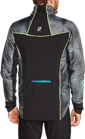 Qloom Herren Ski Jacke Jacket Saint John, Black, M, W144052