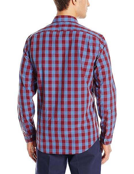 Amazon.com: Goodthreads Men's Standard-Fit Long-Sleeve Large-Scale ...