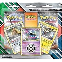 Pokemon Coffret-Pack 2 boosters + Cartes, POBRAR10