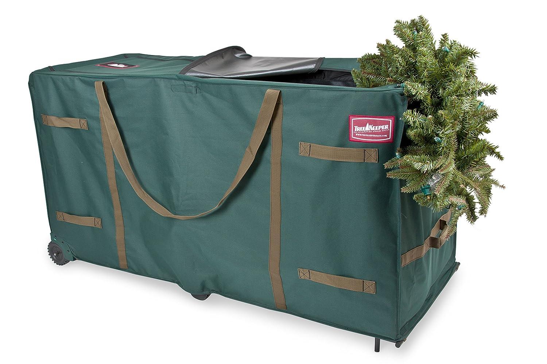 TreeKeeper TK-10773 Greenskeeper 10'-15' Extra Large Christmas Tree Storage Bag with Wheels