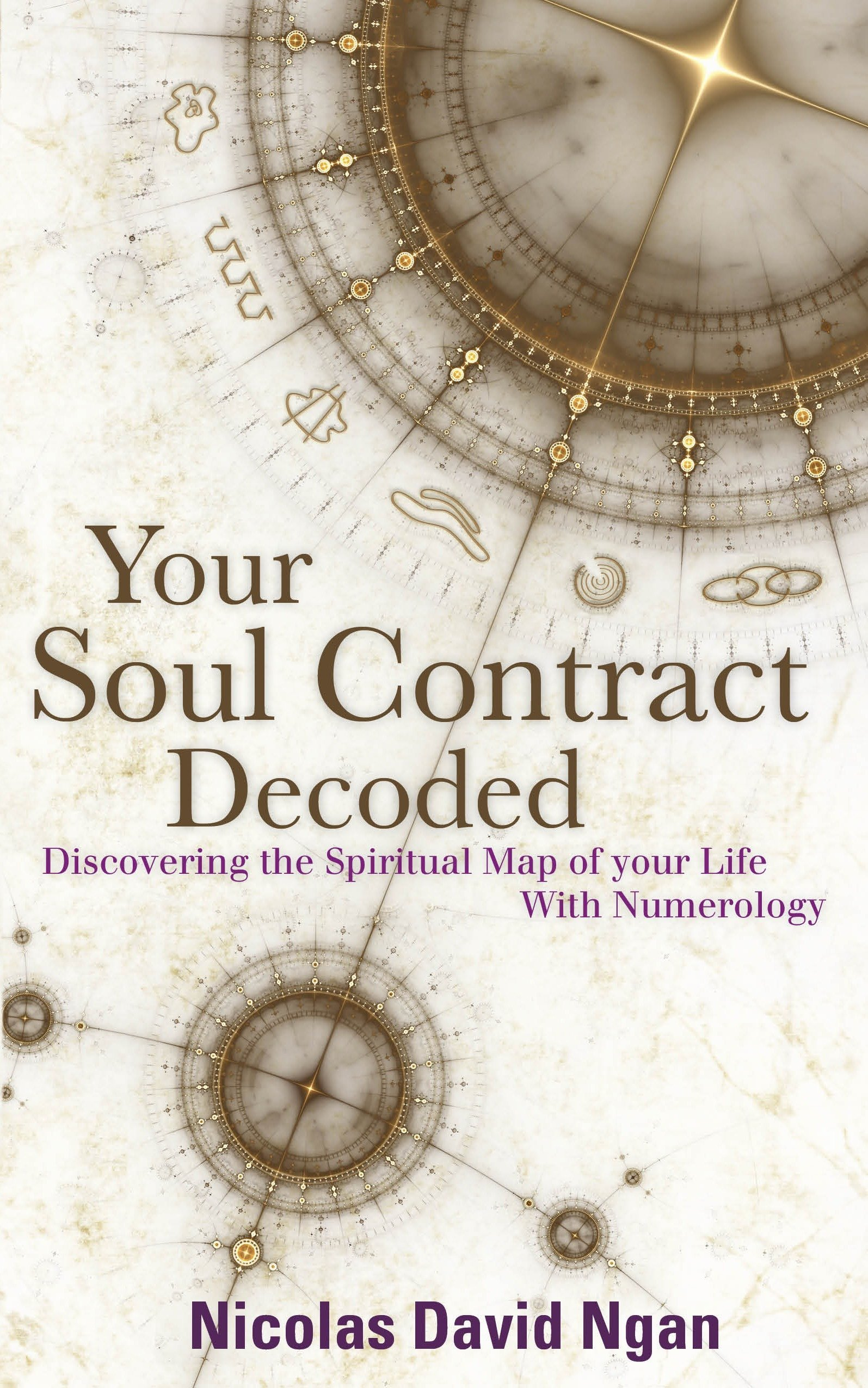 Your soul contract decoded discovering the spiritual map of your your soul contract decoded discovering the spiritual map of your life with numerology amazon nicolas david ngan 9781780285320 books malvernweather Choice Image