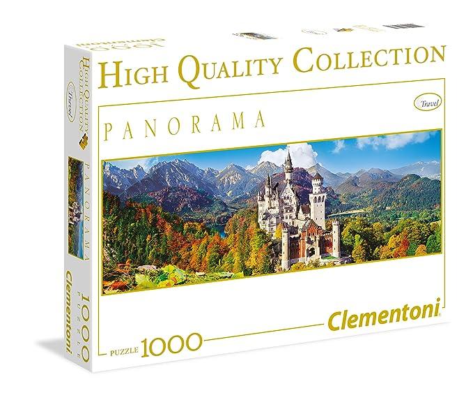 150 opinioni per Clementoni 39283- Puzzle 1000 Pezzi Panorama Neuschwanstein