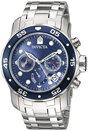 f8dfdb830 Image Unavailable. Image not available for. Color: Invicta Men's 'Pro Diver'  Quartz Stainless Steel Watch ...