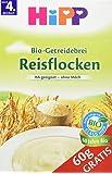 Hipp Schmelzende Reisflocken, glutenfrei, 4er Pack (4 x 410 g)