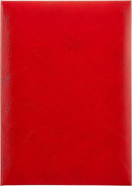 Amazon.com: Tipo de tamaño A4 Rojo Archivo de certificado ...