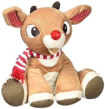 Amazon Com Kids Preferred Rudolph Reindeer Plush Animal Toys Games