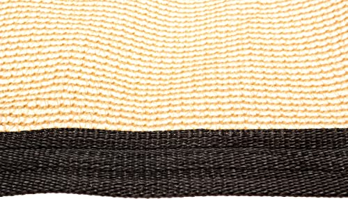 Be Cool Solutions 70 Brown Outdoor Sun Shade Canopy UV Protection Shade Cloth Lightweight, Easy Setup Mesh Canopy Cover with Grommets Sturdy, Durable Shade Fabric for Garden, Patio Porch 20 x24