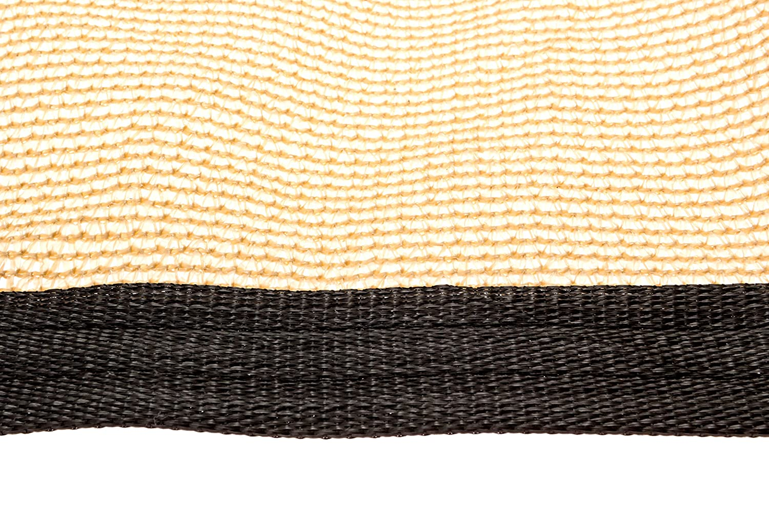 Be Cool Solutions 70 Brown Outdoor Sun Shade Canopy UV Protection Shade Cloth Lightweight, Easy Setup Mesh Canopy Cover with Grommets Sturdy, Durable Shade Fabric for Garden, Patio Porch 6 x12