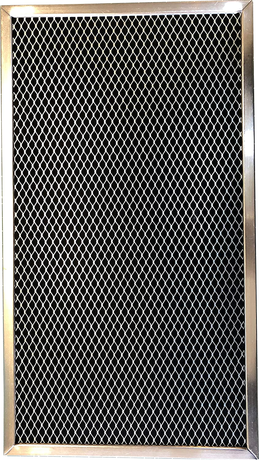 Carbon Range Filter Compatible With GE WB02X2266, GE WB02X2290, GE WB02X2892, GE WB02X9761, GE WB2X2290, GE WB2X2892, GE WB2X9761, Whirlpool W10386873,C-6114;11-3/8x 17 x 3/8 (PT SS); 1 Pack