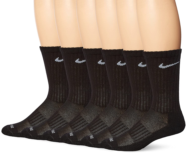 Nike Medio Calcetines Negro Tripulación Máximo h6SLLW4NWP