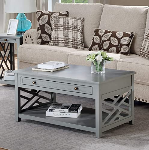 Coventry 36″ W Wood Coffee Table