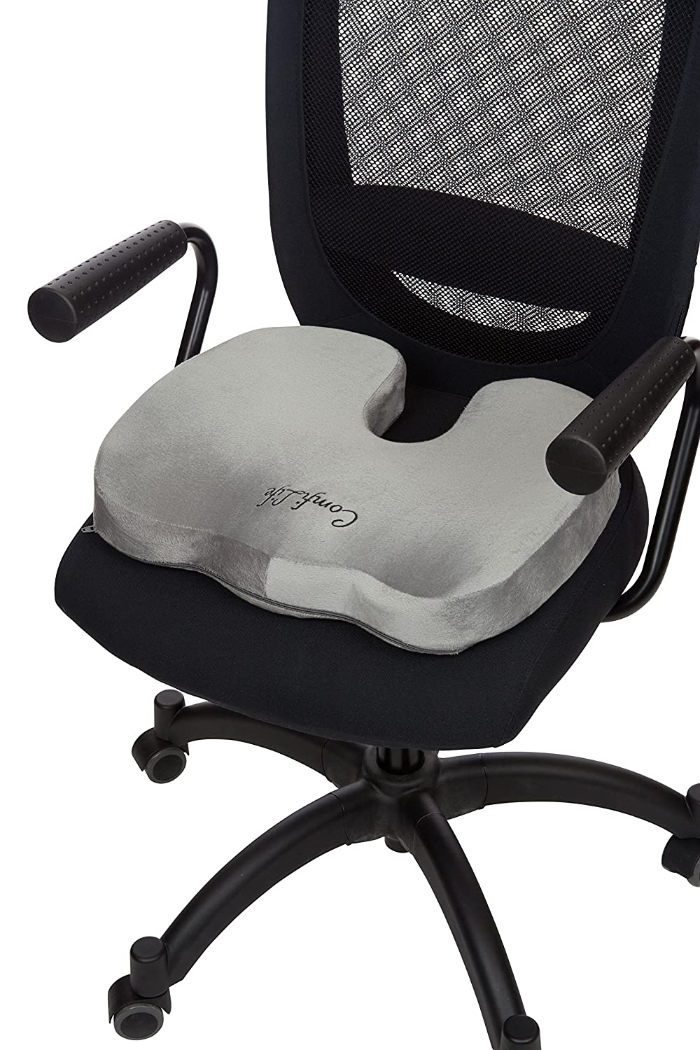 Amazoncom ComfiLife Coccyx Orthopedic Memory Foam Office Chair