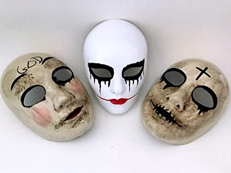 La máscara de purga Anarchy purga Cruz máscara horror purga ...